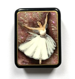Lacquer Box with Ballerina
