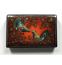 Lacquer Box with Two Pheasants