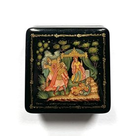 Lacquer Box with Tsar Sultan