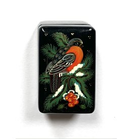 Lacquer Box with Bullfinch