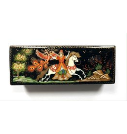 Lacquer Box with Firebird Scene