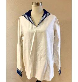 Vintage Soviet Sailor Shirt (White)