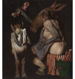 "Korzhev ""The Butcher"" Postcard"