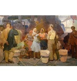 "Kuznetsov ""Before the Shift"" Postcard"