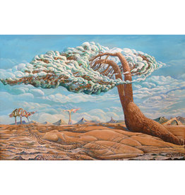 "Dikarev ""Cloud Tree"" Postcard"