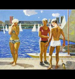 "Knyzhov ""Blue Morning"" 11 x 14 Print"