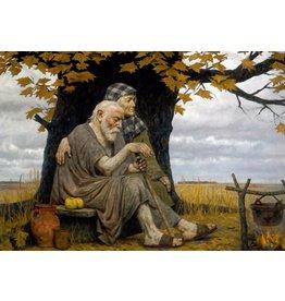 "Korzhev ""Autumn of the Ancestors"" Notecard"