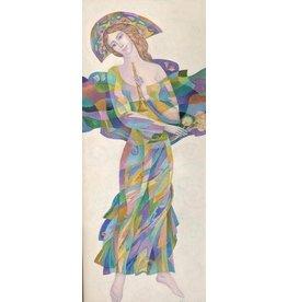 """Dikarev """"Shepherdess"""" 11 x 14 Print"""