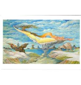 "Dikarev ""Lagoon"" Notecard"