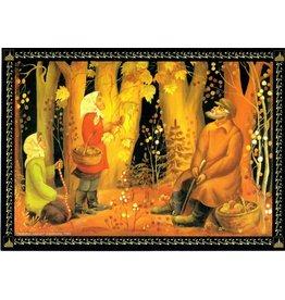 """Lusanova """"Autumn Leaves"""" Postcard"""