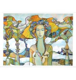 "Dikarev ""Daughter of a Chieftain"" 11 x 14 Print"