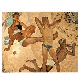 "Korolev ""On the Beach"" 11 x 14 Print"