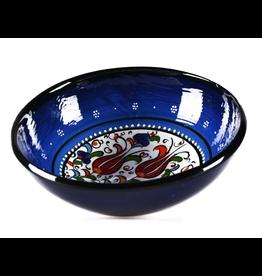 "Black Sea Pottery Medium ""Tulip"" Bowl (Dark Blue)"