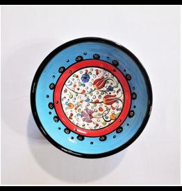 "Black Sea Pottery Medium ""Tulip"" Bowl (Light Blue)"