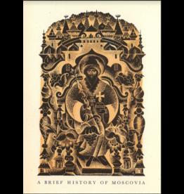 """Brodovitch """"Brief History of Moscovia"""" Postcard"""