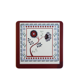 """Alexandra Tolstoy """"Dawn Blossom"""" Small Placemat"""