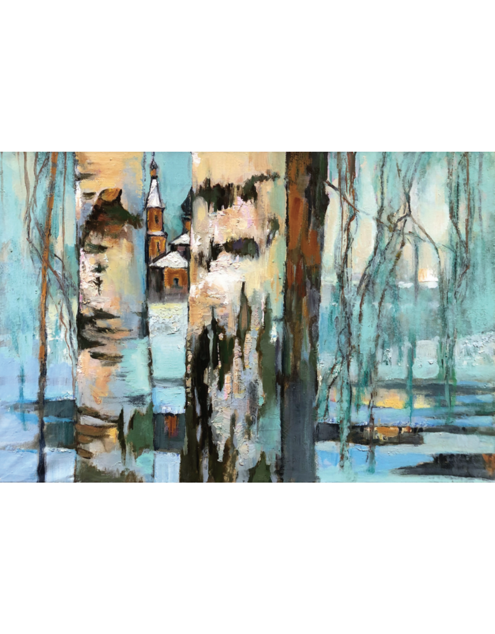 "Izoitko ""Last Ray of Sunlight"" 11 x 14 Print"
