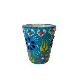 Black Sea Pottery Shot Glass (Light Blue)