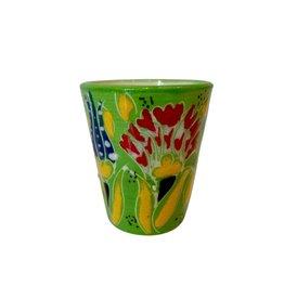Black Sea Pottery Shot Glass (Green)