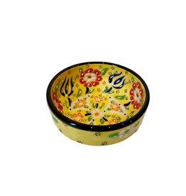 Black Sea Pottery Rim Bowl (Yellow)