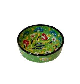 Black Sea Pottery Rim Bowl (Green)