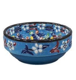 Black Sea Pottery Rim Bowl (Light Blue)