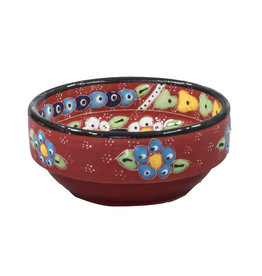 Black Sea Pottery Rim Bowl (Red)
