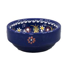 Black Sea Pottery Rim Bowl (Dark Blue)