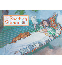 The Reading Woman Boxed Notecards