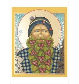 Olga Volchkova: St Wild Ginger Notecard