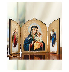 Virgin of the Eternal Bloom Triptych Icon