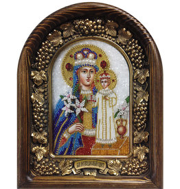 The Unfading Flower Beaded Icon