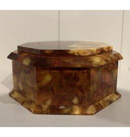 Vintage Amber Box