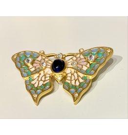 Art Nouveau Butterfly Pin