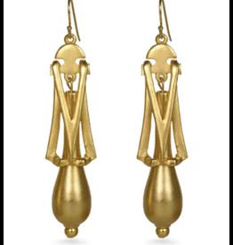 Art Deco Pendulum Earrings