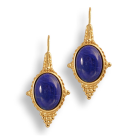 Imperial Lapis Earrings