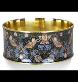 """William Morris """"Strawberry Thief"""" Bangle Bracelet"""
