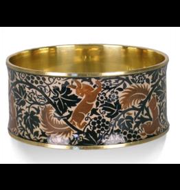 "William Morris ""Fox & Grapes"" Bangle Bracelet"