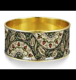 "William Morris ""Rosebuds"" Bangle Bracelet"