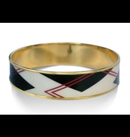 Art Deco Bangle Bracelet