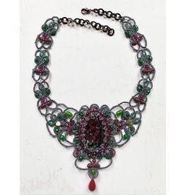 """OVS """"Northern Lights"""" Eudialyte Necklace"""
