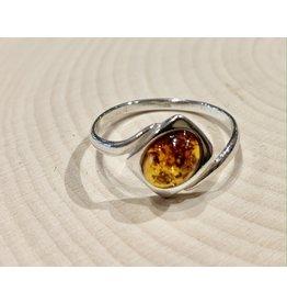 Amber Ring (Square)