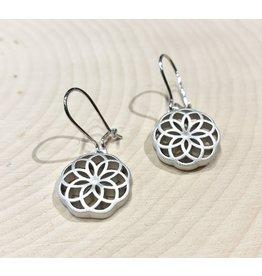 Slavic Sun Symbol Earrings