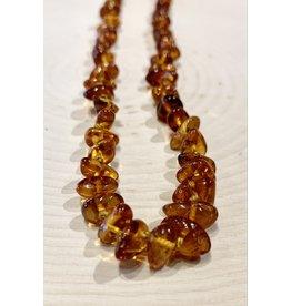 """Polish Amber Necklace (9"""")"""