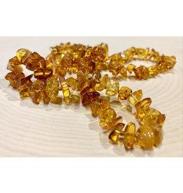 """Polish Amber Necklace (11"""")"""