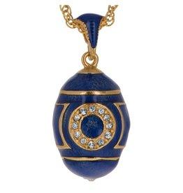 "Fabergé Egg ""Blue Eye"" Necklace"