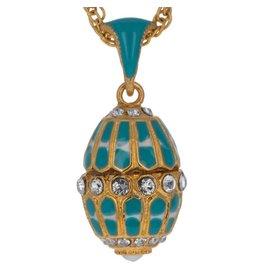 """Fabergé Egg """"Aquamarine"""" Necklace"""