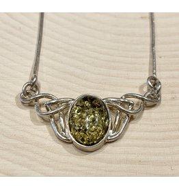 Celtic Amber Necklace