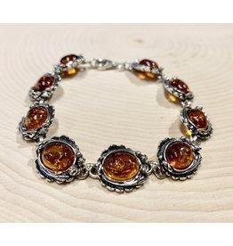 Victorian Amber Bracelet