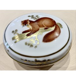 Lomonosov Porcelain Box with Marten